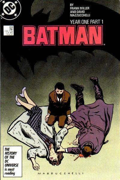 ¿Quién mató a los padres de Batman?