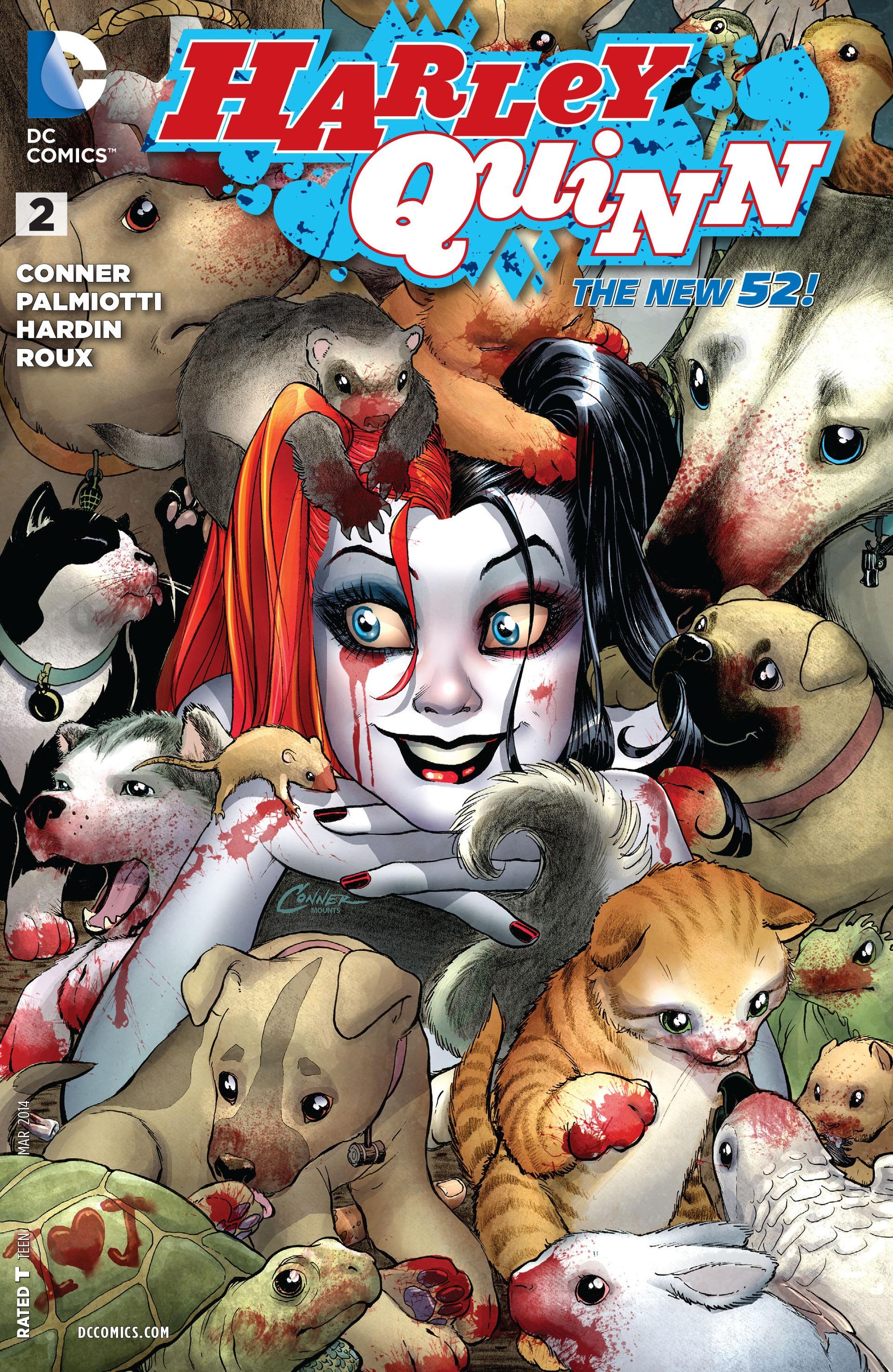♪♫Lady in red♪♫....¿Dónde fue la primera aparición de Harley Quinn?