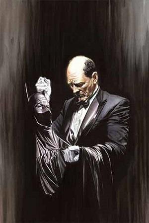 ¿Cuál es el nombre del mayordomo de Batman?