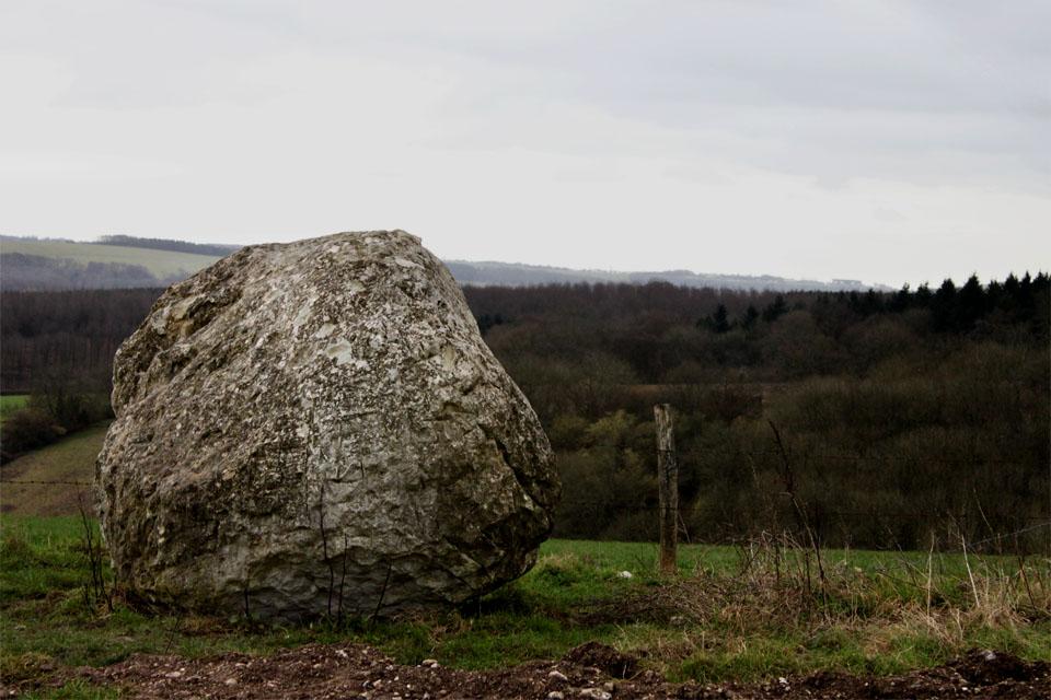 Si tienes que levantar una roca para pasar o desviar tu camino durante 15 minutos ¿Que haces?