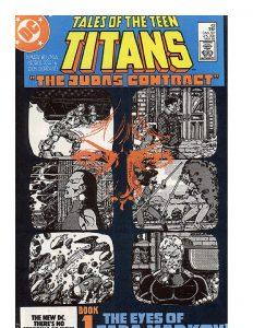 Teen Titans El contrato de Judas