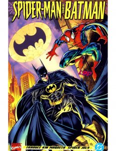 spiderman y batman mentes desordenadas