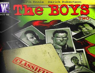 the boys comic